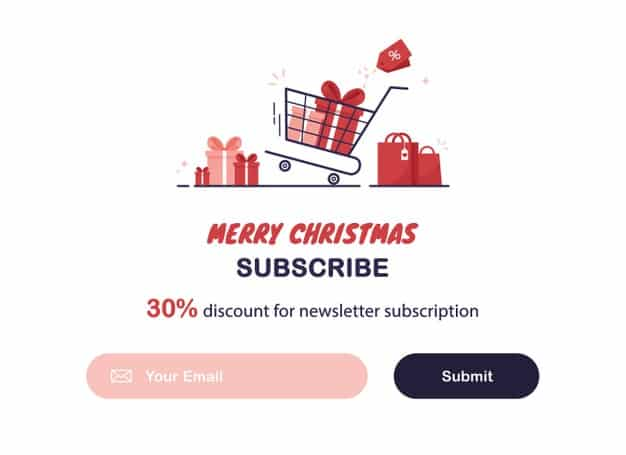 E-mail Subscription Form Example