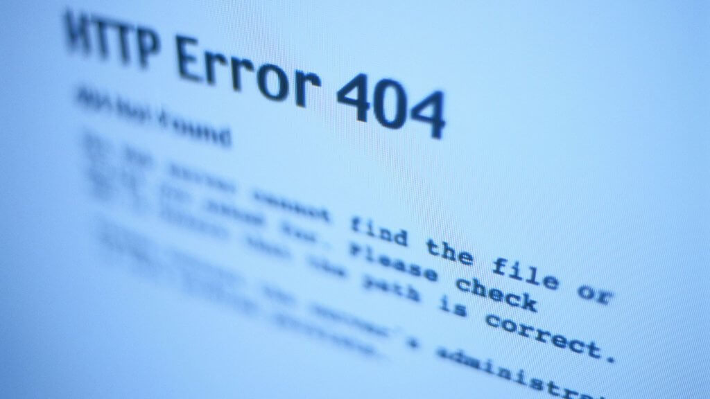 What are HTTP error codes
