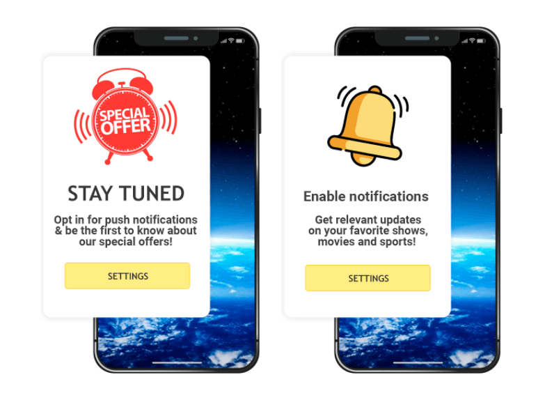 Examples of Push Notifications