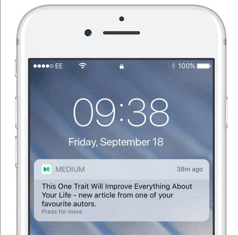 Mobile Application Push Notifications